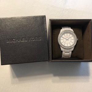 Fossil Accessories - Stainless Steel White Fossil Watch 5 ATM